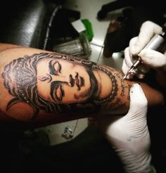 Making Of Shiva Tattoo