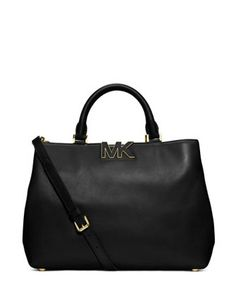 MICHAEL MICHAEL KORS Large Florence Satchel Bag