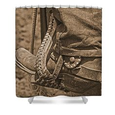 Western Wear Shower Curtain
