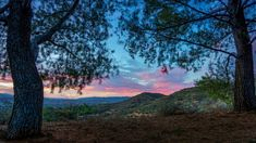 12. Santa Clarita at sunset looks like a precious painting capturing the innocence of a watercolor sky.