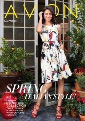Avon Campaign 8 Brochure - Check out our Spring Italian Style! It's in on our new SIGNATURE COLLECTION! https://agafford.avonrepresentative.com #Avon #Campaign8 #Italian #Fashion