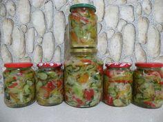 Pickles, Cucumber, Mason Jars, Food, Romania, Decor, Canning, Salads, Decoration