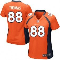 (Elite Nike Women s Demaryius Thomas Orange Super Bowl XLVIII Jersey) Denver  Broncos Home NFL Easy Returns. c430bf2d2