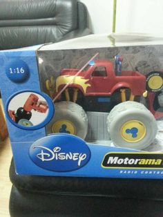 "original ""Disney"" Big Foot Radio Control Topolino Car Toy ,unit size 1:16 compare to the real Car ,,  STOCK GOODS ON SALE : 4800pcs , PRICE : 5-9USD /PCS ,"