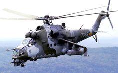 Mi-24 Helicóptero artillado.                                                                                                                                                     Más