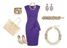 """""""Geovista Statement Amethyst"""" by candibyrenee on Polyvore featuring Coast, Chloe + Isabel, Nly Shoes and Tod's"""