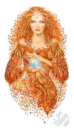 Mother Earth by layanna on deviantART