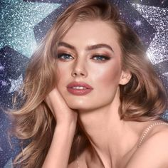 Nov 2019 - Filmstar Bronze & Glow in a limited edition, collectible, design embellished with crystals from Swarovski® Pale Makeup, Fair Skin Makeup, Bronze Makeup, Beauty Makeup, Hair Beauty, Glow Makeup, Bronze Hair, Makeup Brush, Maquillage Charlotte Tilbury