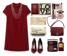 """Burgundy love ..."" by gul07 ❤ liked on Polyvore featuring Theory, Sloane Stationery, Art Classics, Ballard Designs, Stuart Weitzman, Lucky Brand, Charlotte Tilbury, Zadig & Voltaire, Lancôme and Tom Ford"