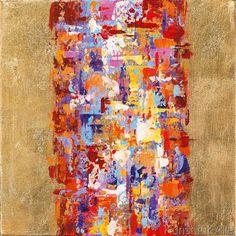 New Life Collection - Farbentraum auf goldenem Grund