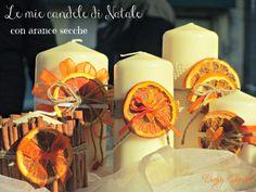Daisy Garden: Le mie candele decorate con le arance