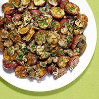 Potatoes and mushroom side