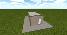 Cool 3D #marketing http://ift.tt/2o7GK3z #barn #workshop #greenhouse #garage #roofing #DIY