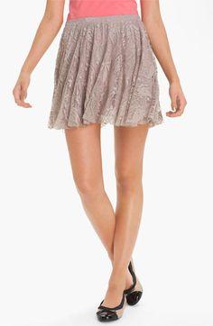 h.i.p. Lace Skirt (Juniors) | Nordstrom