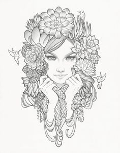 """'Cloaked In Succulence' by Glenn Arthur, a new print from Rhino Barking Sparrow.  9"""" x 12"""" giclée print on Cold-Press Natural Heavy Fine Art 340gsm paper in a hand numbered timed release edition for $25 from Tuesday February 28 at 9am PST until..."""