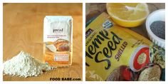 A few ingredients for my delicious Orange Poppy Seed Cranberry Hemp muffins!