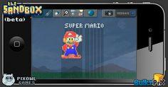 Super Mario  #pixelart #sandbox #pixel #art #ios #iphone