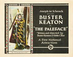 El rostro pálico (1921) EEUU. Dir: Buster Keaton. Curtametraxes. Comedia. Oeste. Cine social - DVD CINE 2450-III