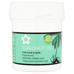 Superdrug Coconut Oil 125ml. One product I would never want to be without. Use it on my hair and my skin