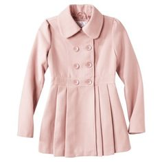 Xhilaration® Junior's Double Breasted Wool Coat -Assorted Color  LOVE THIS! Kinda liz lisa-y