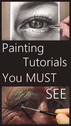 The Secrets Of Drawing Realistic Pencil Portraits - Drawing and painting tutorials by top instructors. Learn to draw and paint online. Secrets Of Drawing Realistic Pencil Portraits - Discover The Secrets Of Drawing Realistic Pencil Portraits Acrylic Painting Techniques, Painting Videos, Online Painting, Painting Tips, Drawing Techniques, Painting & Drawing, Drawing Drawing, Learn Drawing, Painting Abstract