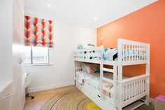 Peach kids room - so 80s or funky and now? You tell us!