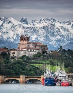 San Vicente de la Barquera Cantabria Spain