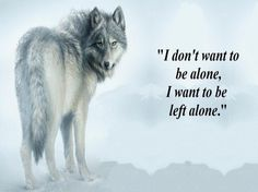 Left Alone - animal, fantasy, abstract, wolf Wisdom Quotes, True Quotes, Motivational Quotes, Inspirational Quotes, Lone Wolf Quotes, Wolf Qoutes, Wolf Spirit Animal, Wolf Love, Wolf Pictures