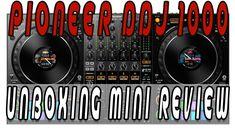 Pioneer Ddj 1000 ✅Unboxing Mini Review [Mixman Dj] Rekordbox Dj 2018 🔜