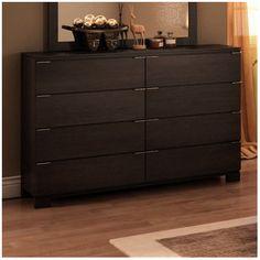 College Woodwork Grandview 8 Drawer Dresser