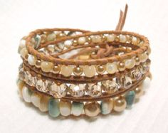A touch of Earth bracelet by Tesoribydmarie on Etsy