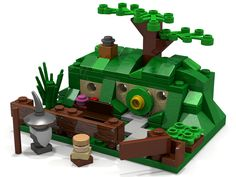 LEGO Micro Scale Bag End | by bungeshea
