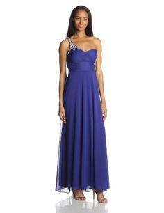 Hailey by Adrianna Papell Women's One Shoulder Beaded Detail Gathered Waist Gown, Royal, 10 Adrianna Papell http://www.amazon.com/dp/B00IZ78HF0/ref=cm_sw_r_pi_dp_2PQDub0PJH8ZW