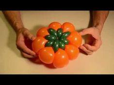 One balloon swan - twisting tutorial (Subtitles) - YouTube