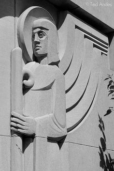 Art Deco Angel by ted @Nikki Desalliers on Flickr.