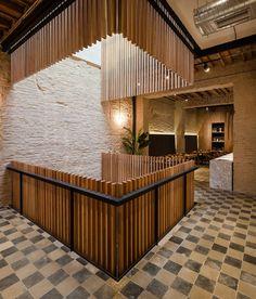 bamboo walls restaurant pinterest bamboo wall walls and corridor