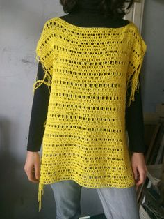 Spring has come and it is warmer now, so I decided to make something light and sunny. In this video I will show you how to crochet super easy spring or summe...