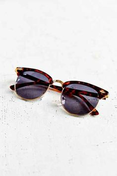 Skylar Sunglasses - Urban Outfitters  tortoise shell is the best. i love this shape.