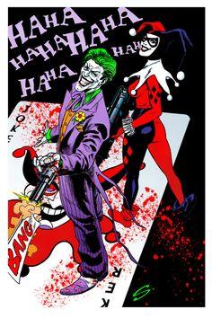 The Joker & Harley Quinn - Steve Scott