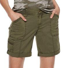 Mens Cargo Shorts Meteor Moon Stars Adjustable Shorts