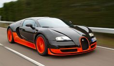 Top 10 Fastest Cars in The World 2014 1.Bugatti Veyron Super Sports