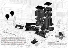 "Gallery of Competition Proposal by Preliminary Research Office Thinks ""Outside the Box"" - 6"