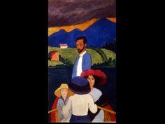 Gabriele Mûnter, Boating, 1910 KNOW DATE