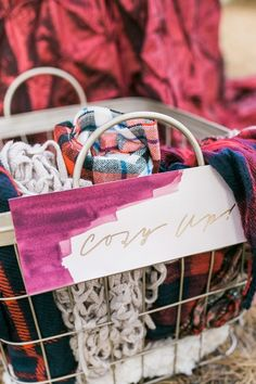 Cozy Wraps for a Winter Wedding | Mandy Ford Photography on @glamourandgrace via @aislesociety