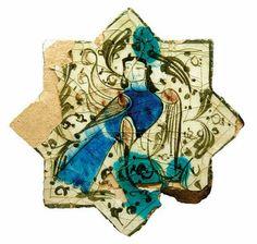 Turkish Seljuk Star Shaped Tile From Konya Kubadabad Palace Museum Ceramic Pottery, Ceramic Art, Cultural Artifact, Pottery Patterns, Antique Tiles, Tile Art, Star Shape, Anthropology, Archaeology