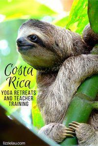 Costa Rica an amazing destination for yoga retreats and teacher training. #travel #adventuretravel