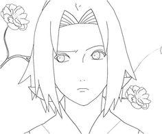 Imagenes de naruto y hinata para dibujar imagui anime for Naruto sakura coloring pages
