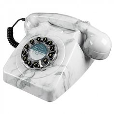 Wild and Wolf 746 marble telephone - Home Accessories - Home & Kitchen - Gifts & Home