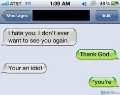 Funny Tumblr Conversations | funny (iphone,funny,conversations,style,laugh,phones,creative,