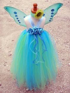 Purple Flower Fairy Wings